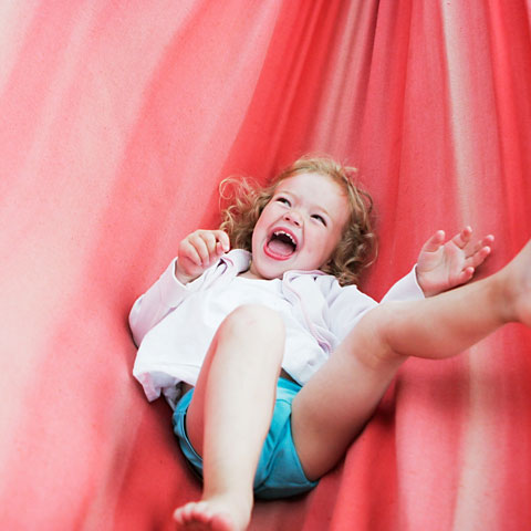 Happy girl.